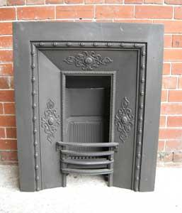 Antique Early Victorian / Regency Cast Iron Fireplace Insert
