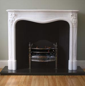 Marseilles Marble Fireplace Surround