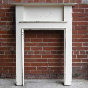 Old Reclaimed Edwardian Fire Surround