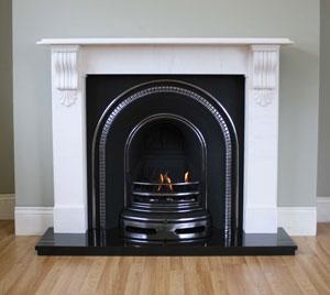 The Whitby Marble / Limestone Fireplace Surround