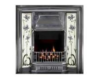 Sovereign Tiled Cast Iron Fireplace Insert
