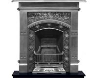 Jekyll Arts and Crafts Cast Iron Combination Fireplace